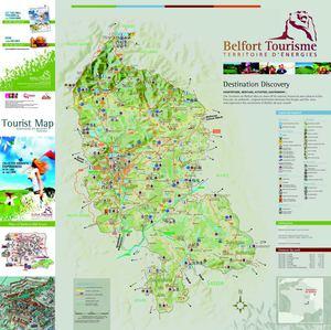 Calamo Carte touristique GB