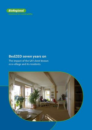 BedZED Seven Years On