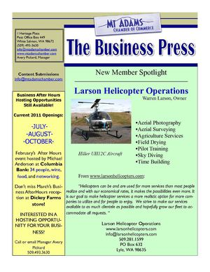 The Business Press 3/1/2011