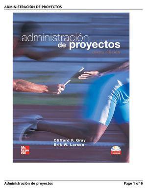 Calam o administraci n de proyectos for Administracion de proyectos