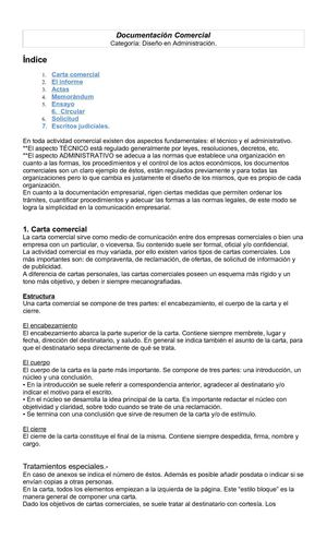 Documentación comercial (2)