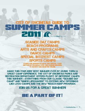 City of Encinitas Summer 2011 Camp Guide
