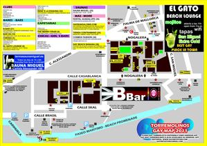 Torremolinos Gay Map 2011
