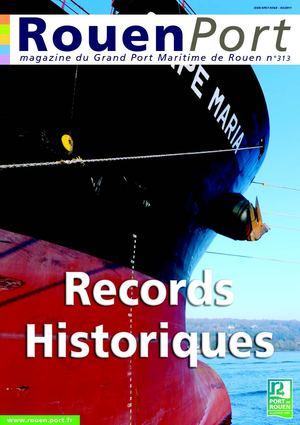 Calam o rouen port magazine n 313 - Grand port maritime de rouen ...