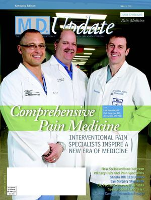 "March 2011 ""Comprehensive Pain Management"" M.D. Update Kentucky Edition"