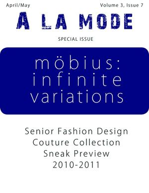 A La Mode Newsletter - April/May Special Issue: Senior Fashion Design Couture Collection Sneap Preview
