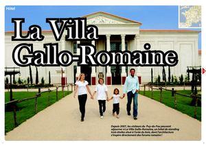 Calam o h tel villa gallo romaine au puy du fou - Hotel villa gallo romaine ...