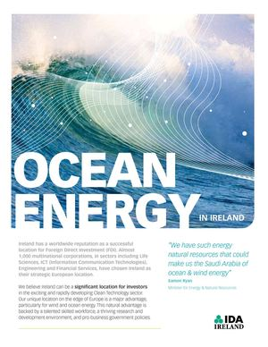 Ocean Energy in Ireland