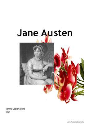 jane austen biography essay