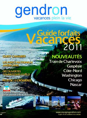 Guide forfaits Vacances 2011