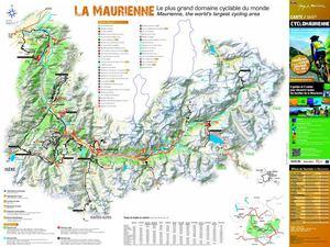 Calam o carte cyclo maurienne - Office de tourisme st jean de maurienne ...