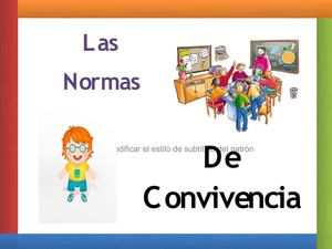C e i p sancho ii 1 y 2 normas de convivencia en el for 10 reglas del salon de clases en ingles