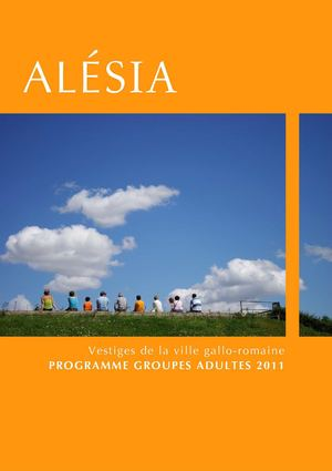 Programme groupes adultes 2011