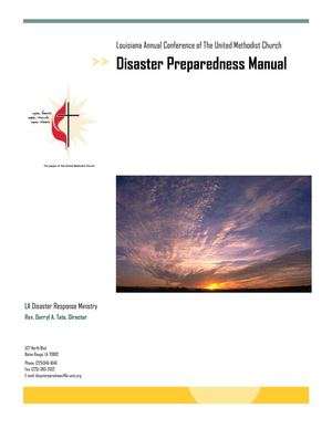 Disaster Preparedness Manual for Churches