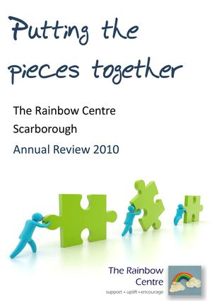 The Rainbow Centre Annual Review for 2010