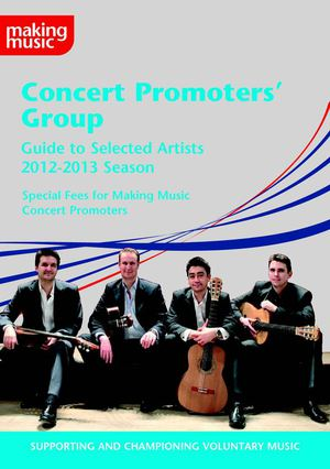 Concert Promoters' Group Brochure 2012/2013