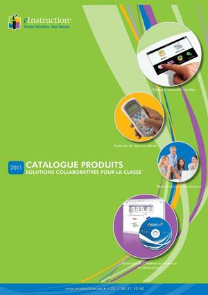 eInstruction Catalogue FR