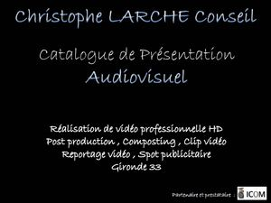 Catalogue audiovisuel : Reportage video et photos, Réalisation de video professionelle, Spot publicitaire, Clip video, Composting, DVD, Post Production, bordeaux, gironde, 33