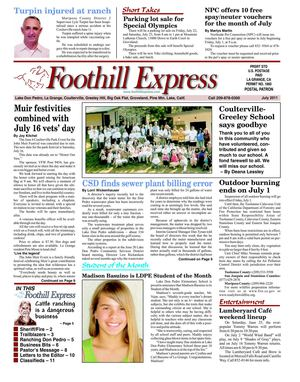 Foothill Express July 2011