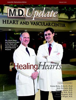 "February 2010 ""Healing Hearts"" M.D. Update Louisville Kentuckiana Edition"