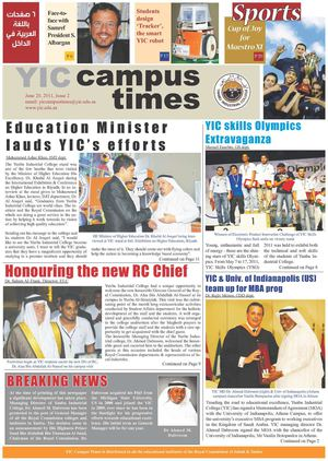 YIC CAMPUS TIMES 2nd ISSUE