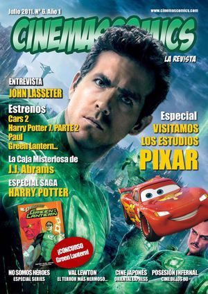 Cinemascomics: La revista. Nº 6.