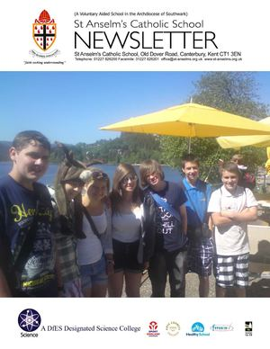 St Anselm's End of Term 6 Newsletter 2011
