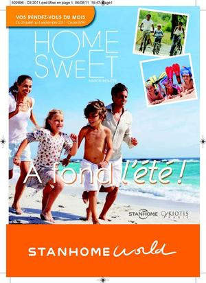 Home Sweet du 25 Juillet au 4 Septembre