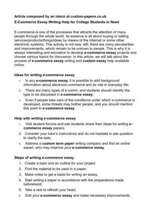 Best short essays ever written