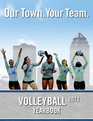 2011 Drake Volleyball Yearbook