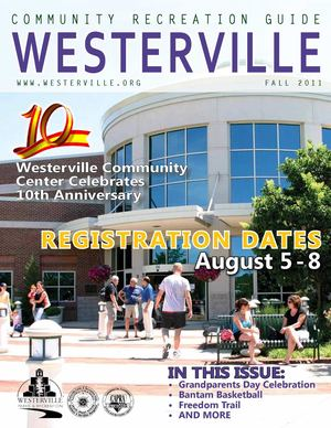 Westerville Community Recreation Guide Fall 2011