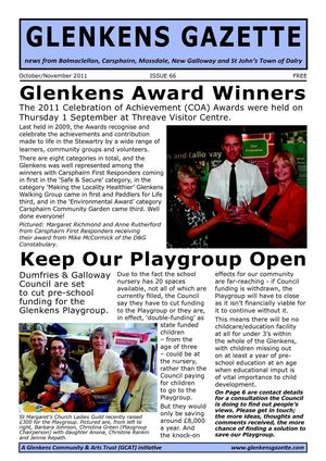 Galloway Gazette Issue 66, October - November 2011