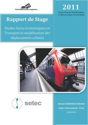 Calam o rapport de stage setec - Page de garde rapport de stage open office ...