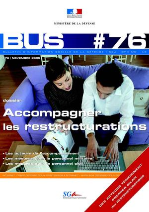 "BuS n°76 - ""Accompagner les restructurations"""