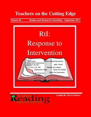 Teachers on the Cutting Edge 2011 - RtI: Response to Intervention