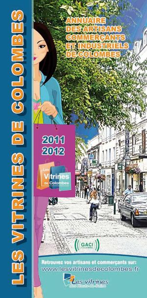 Guide des commerçants de Colombes.