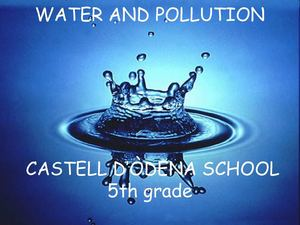 Water pollution 5th grade