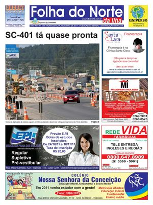 Folha do Norte da Ilha ed 154