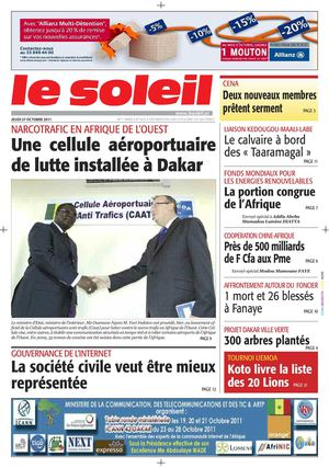 Edition du 27 Octobre 2011