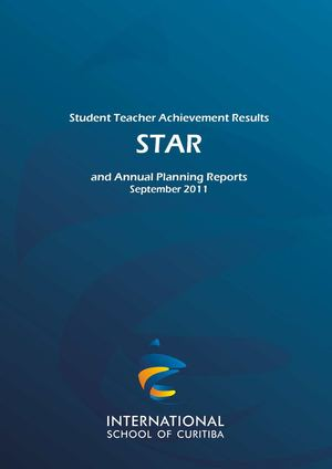 ISC STAR Report - October 2011