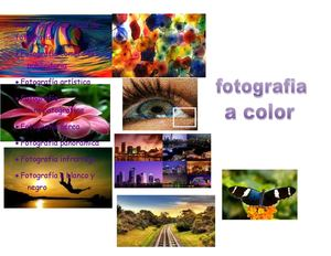 fotografía a color