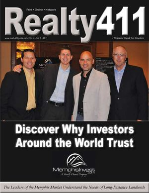Realty411 Magazine - The Only Magazine By Investors for Investors is RIGHT HERE FOR FREE!!! Read success stories and tips from the most successful investors in the nation
