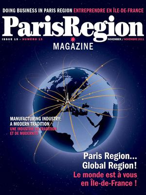 Paris Region Magazine / Doing Business in Paris Region - issue 15