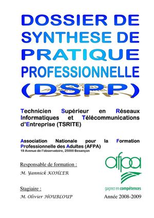 DSPP complet