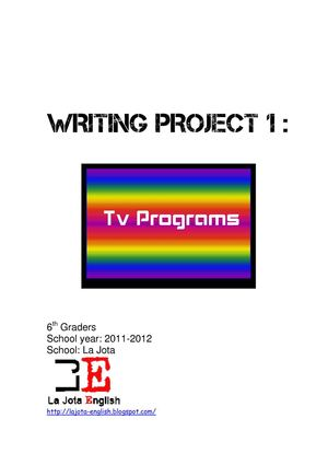 Project 1: tv programs