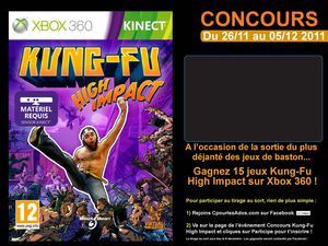 Concours Kung-Fu High Impact