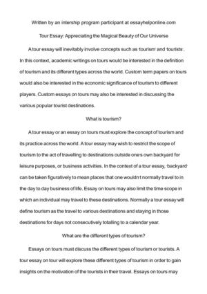 tour essay appreciating the magical beauty of our universe tour essay appreciating the magical beauty of our universe