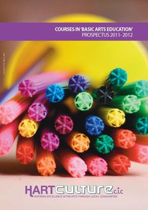 COURSES IN 'BASIC ARTS EDUCATION' 2011 - 2012