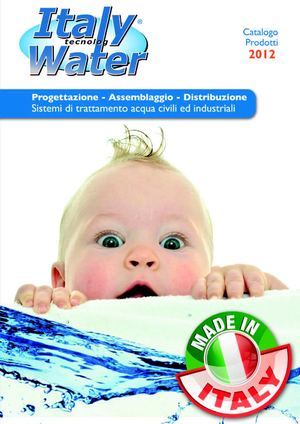 Catalogo 2012 Italy Water