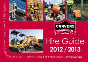 Hire center guide 2012 -2013